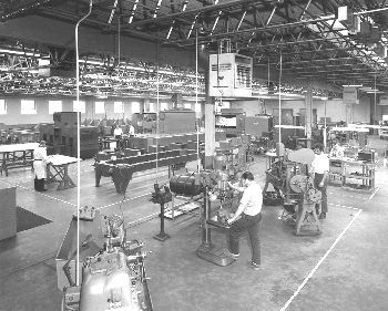 Deco Tools machine shop facilities.